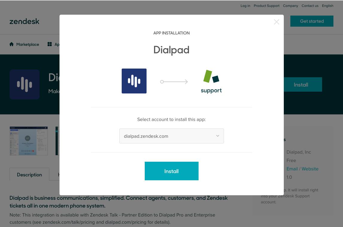 Integrate Zendesk and Dialpad – Dialpad