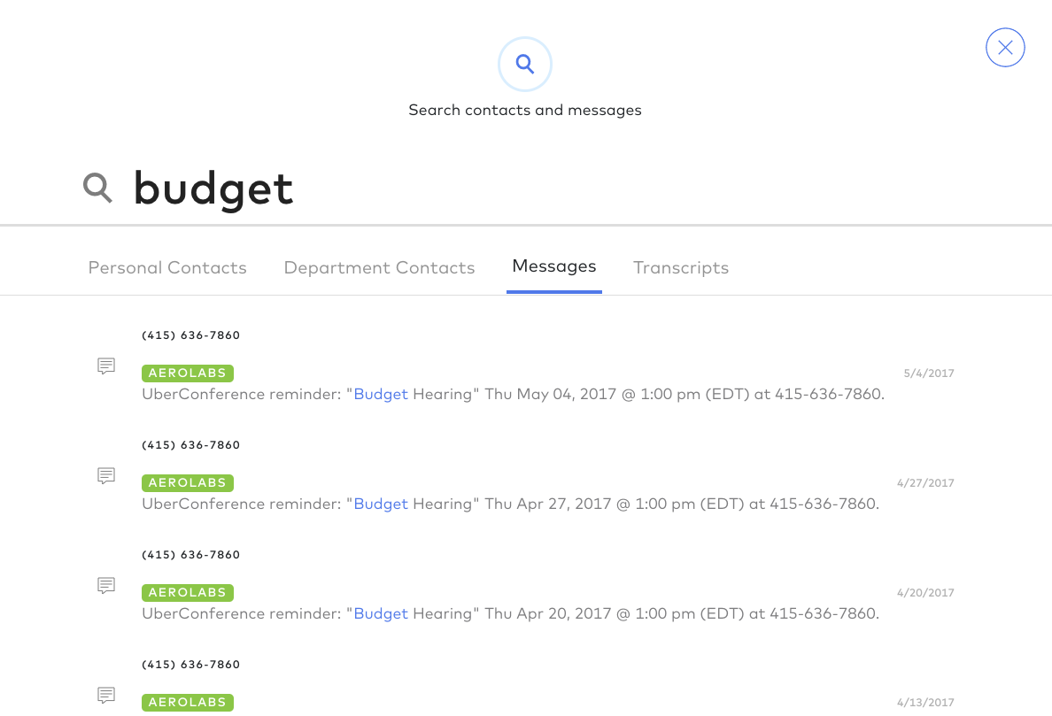 a78acbded6fe2a Search, Click, Click! We've updated the design of the current default  search view, and also offer tabbed search results that let users  essentially filter by ...